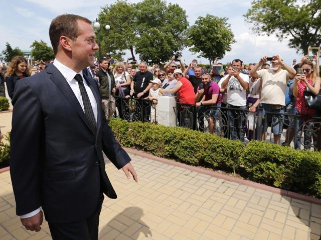 Дмитрий Медведев, Феодосия, 23 мая 2016 года