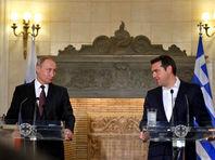 Совместная пресс-конференция Владимира Путина с Премьер-министром Греции Алексисом Ципрасом, 27 мая 2016 года