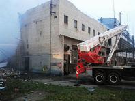 В Тульской области на химическом предприятии произошел взрыв и вспыхнул пожар