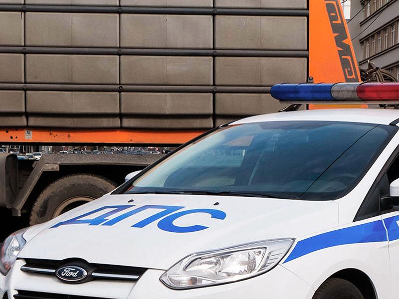 В новой Москве полицейский автомобиль сбил мальчика на велосипеде