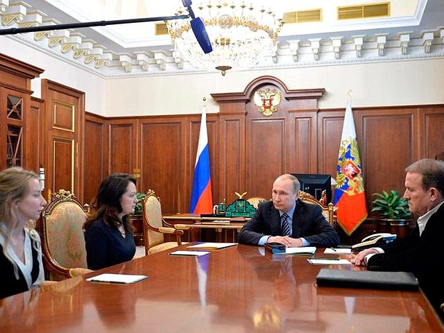Путин подписал указ о помиловании Савченко после встречи с родственниками погибших журналистов ВГТРК