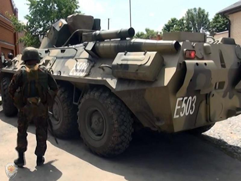 Сотрудники федеральных сил уничтожили, по предварительным данным, четверых боевиков в ходе спецоперации в Сулейман-Стальском районе Дагестана