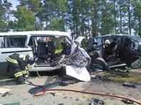 В Татарстане столкнулись микроавтобус и легковушка: уже восемь жертв
