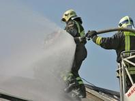 Крупный пожар на мебельной фабрике во Фрязино: четверо пострадавших, двое пожарных пропали под завалами