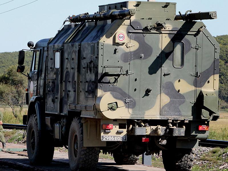 Подвижные пункты управления совершили марши в ходе внезапной проверки боеготовности ВС РФ