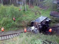 В результате ДТП было временно приостановлено движение поездов