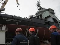 """Пока """"Илья Муромец"""" готов на 70%, достраивать корабль будут уже на воде. Он войдет в состав Северного флота в 2017 году"""