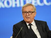 Юнкер на ПМЭФ анонсировал разговор с Путиным о санкциях и назвал условие их отмены