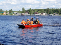 На озере Сямозеро продолжаются поисково-спасательные работы