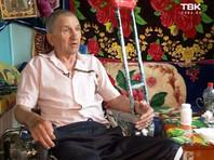 В Красноярске инвалид-колясочник, разбивший кувалдой тротуар по пути в больницу, объявил голодовку
