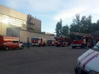 На судостроительном заводе Санкт-Петербурга произошел пожар на корабле ВМФ