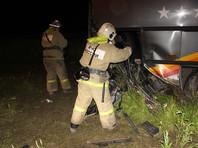 Первоначально сообщалось о 13 серьезно пострадавших - большинстве пассажиров автобуса, водитель которого и спровоцировал ДТП