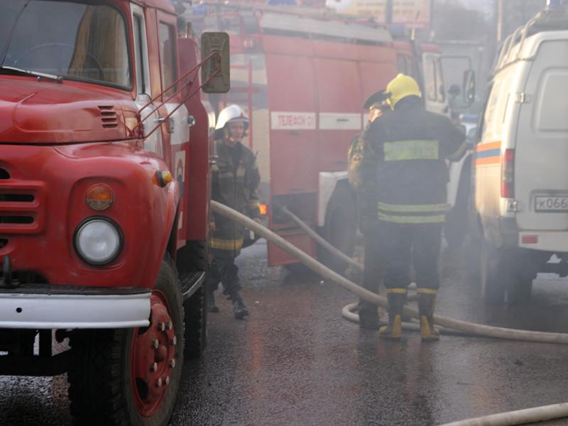 Пожару в здании Минобороны в Москве присвоена повышенная категория сложности