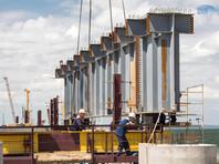 Строители начали монтаж пролетов Керченского моста, несмотря на задержки в финансировании
