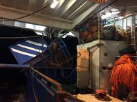 При взрыве на рыбопромысловом судне у берегов Камчатки погиб матрос