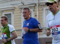 Председатель правления Сбербанка РФ Герман Греф принял участие в благотворительном забега SPIEF Race