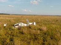 В Пензенской области испытания нового планера обернулись крушением