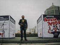 В крупных городах России прошли согласованные с властями митинги против пакета антитеррористических законов, названных в честь одного из авторов - депутата Госдумы Ирины Яровой