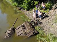 Уникальный танк Т-34-76 подняли со дна Дона (ФОТО)