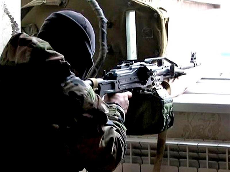 """В Дагестане силовики в ходе спецоперации ликвидировали боевика, который, по оперативным данным неоднократно пытался уехать в Сирию и примкнуть к запрещенной в РФ террористической организации """"Исламское государство"""""""