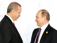 Кремль сообщил подробности готовящейся встречи Путина с Эрдоганом