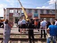 В Кемерово обрушилось здание торгового комплекса