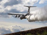 В Иркутской области в районе лесных пожаров пропал самолет Ил-76