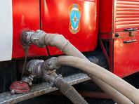 В Москве на Кутузовском проспекте произошел пожар на территории бывшего пивного завода