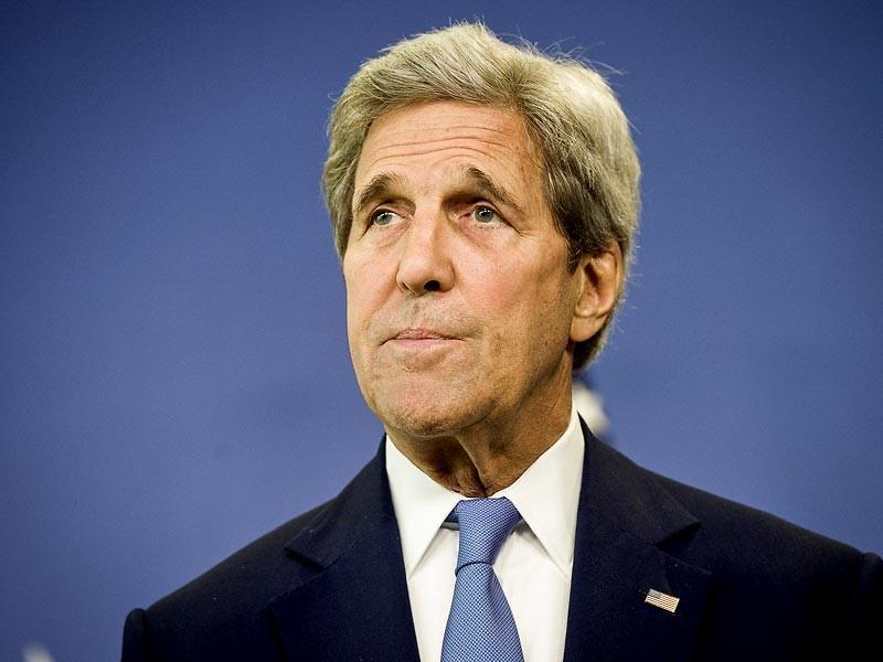 Госсекретарь Керри прибывает в Москву 14 июля. У главы Госдепартамента США запланированы переговоры с министром иностранных дел России Лавровым