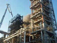 В Уфе из-за пожара на нефтяном заводе погибли пять человек, ищут пропавших без вести