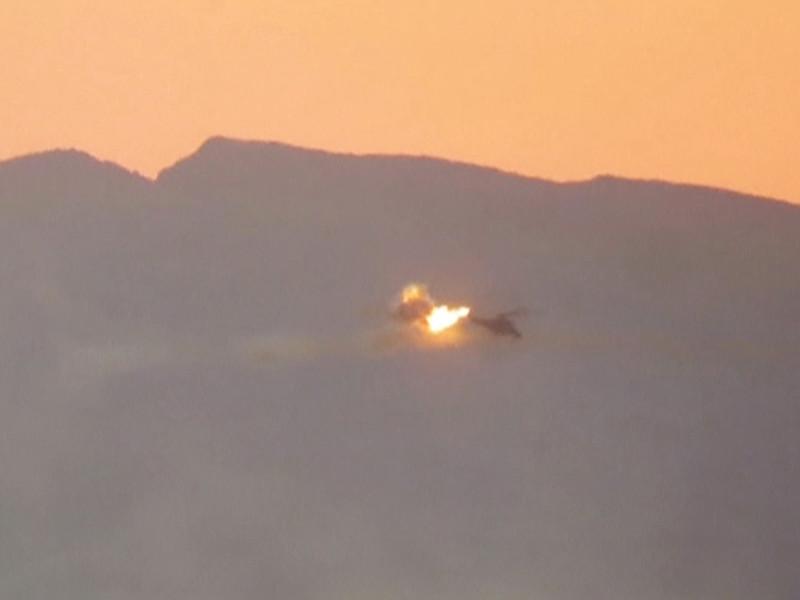 Российские летчики погибли вблизи Пальмиры не на том вертолете, о котором сообщили в Минобороны