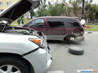 Автомобиль губернатора Сахалинской области попал в ДТП в Южно-Сахалинске