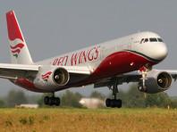 В аэропорту Тюмени приземлился самолет Ту-204 авиакомпании Red Wings с отказавшим двигателем