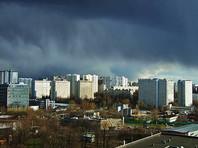 В Москве МЧС предупредило жителей столицы о надвигающейся грозе со шквальным ветром