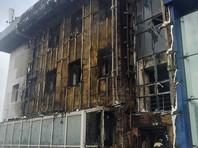 В Благовещенске произошел пожар в здании аэропорта