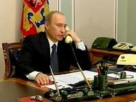 Путин снова поговорил по телефону с Меркель и Олландом