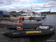 Собирающихся в устье Енисея активистов Greenpeace блокировали в Дудинке