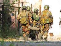 В Дагестане стрелявшие по силовикам бандиты скрылись, бросив автомат