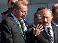 Путин и Эрдоган обсудят в Петербурге компенсацию за сбитый российский бомбардировщик