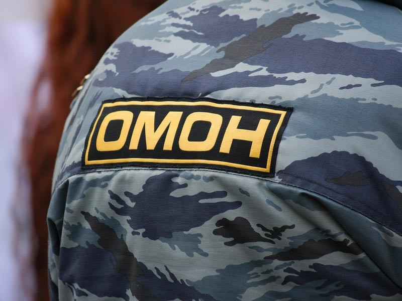 В Ростовской области ОМОН задержал несколько десятков участников тракторного пробега на Москву