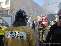 В Москве после пожара с большим количеством жертв возбуждено дело о нарушении требований безопасности