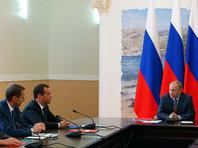 Путин провел заседание Совета безопасности в Крыму