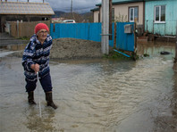 Тайфун на Сахалине подтопил дома, оставил тысячи людей без света