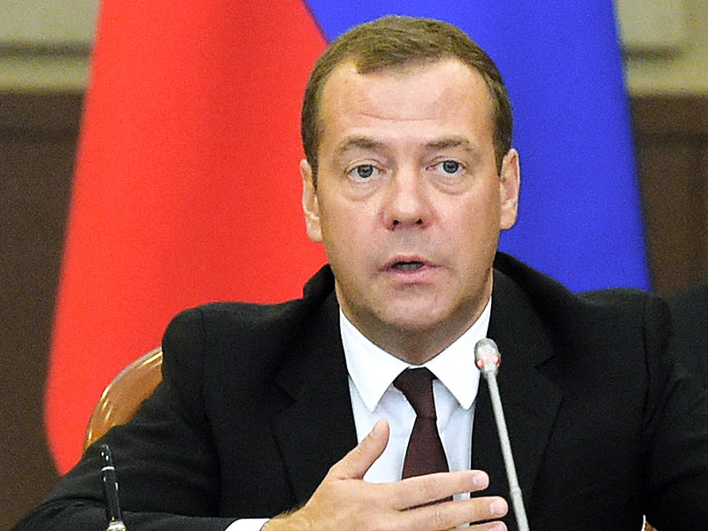 """Премьер РФ Дмитрий Медведев считает, что решение о разрыве дипотношений с Украиной может быть принято руководством России, если у Москвы не останется других инструментов для того, чтобы """"отрезвить"""" Киев"""