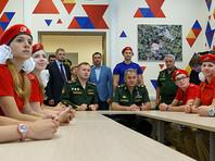 """В """"Юнармию"""" за два месяца вступили уже порядка 12 тысяч юношей и девушек"""