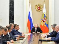 После поимки украинских диверсантов в Крыму Путин собрал совещание Совбеза РФ