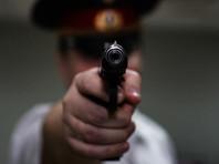 Погоня под Петербургом: водитель Audi сбежал от полицейских, а пассажиру пришлось прострелить ногу