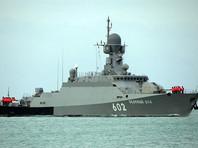 В Средиземном море ВМФ России начал антитеррористические учения с участием ракетных кораблей