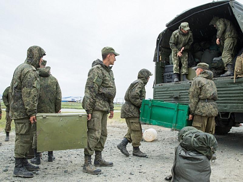 3 августа на Ямал прибыли дополнительные силы Минобороны РФ для ликвидации последствий падежа оленей в Ямальской тундре