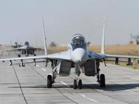 Истребители МиГ-29 отработали в Крыму бомбометание по условному противнику